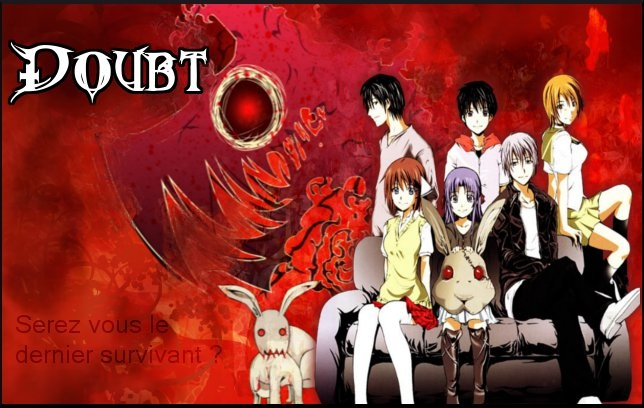 Horror Anime Manga Wallpaper Containing Anime Entitled Doubt Manga