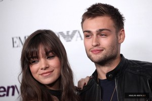 Douglas Booth and Hailee Steinfeld at the 2013 Young Hollywood Party