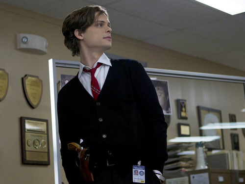 Dr. Spencer Reid wallpaper containing a business suit and a suit titled Dr. Spencer Reid
