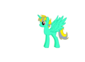 Dragon Aura as a Pony - mlp-fim fan art