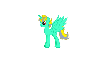 Dragon Aura as a poney