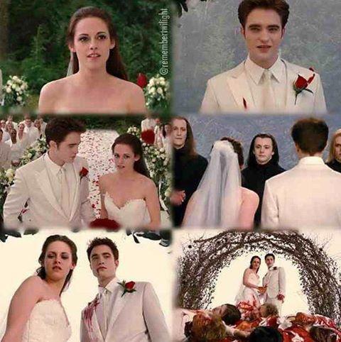 Edward and Bella\'s wedding images Bella\'s wedding nightmare ...
