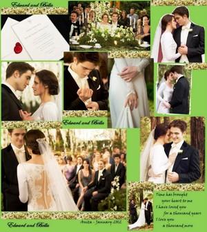 Edward&Bella's wedding<3