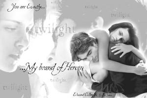 Edward and Bella 壁紙