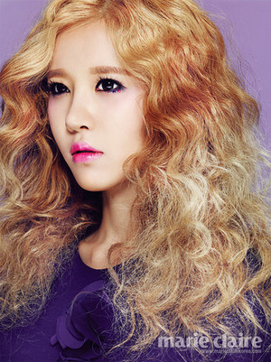 Ellin for Marie Claire Korea interview - 'The Colour of Crayon'
