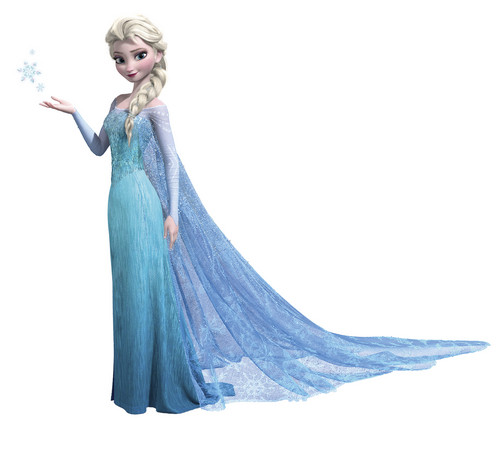 Frozen wallpaper probably with a cloak called Elsa