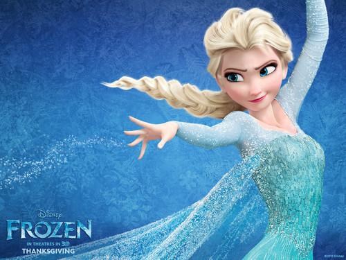 Elsa the Snow क्वीन वॉलपेपर called Elsa वॉलपेपर्स