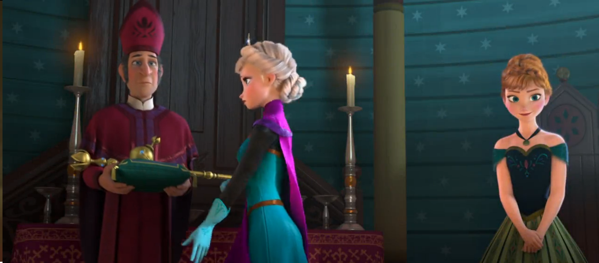 Frozen Elsa Coronation
