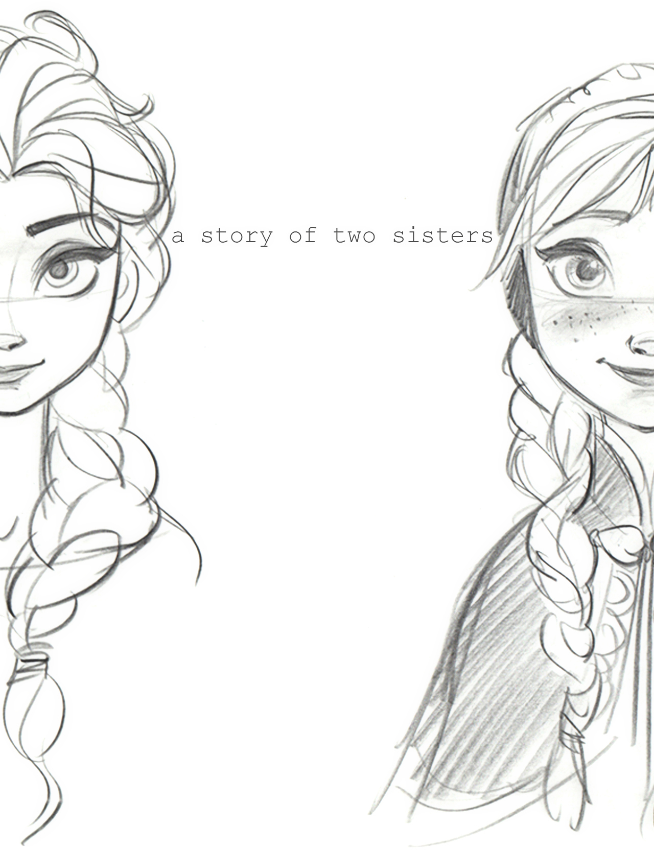 esa sketches frozen anna and sisters - photo #12