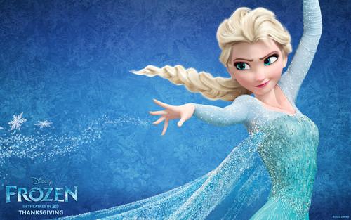 elsa dan anna wallpaper called Elsa
