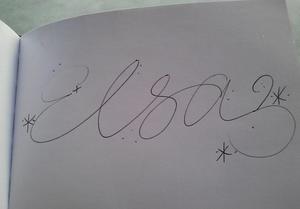 Elsa's Signature
