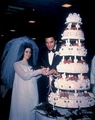Elvis And Priscilla On Their Wedding Day - elvis-presley photo