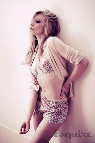 Natalie Dormer wallpaper with a lingerie and a swimsuit titled Esquire Photoshoot