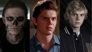 Evan Peters roles: American Horror story