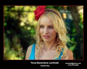 Film Director Yeva-Genevieve Lavlinski