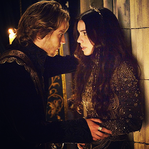 Reign [TV Show] wolpeyper entitled Francis and Mary