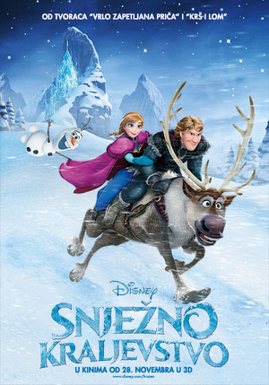 Frozen Croatian Poster