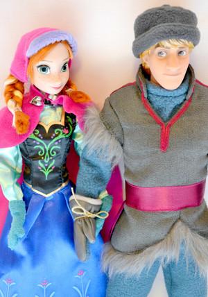 Anna and Kristoff Dolls