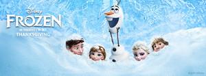Frozen Facebook cover