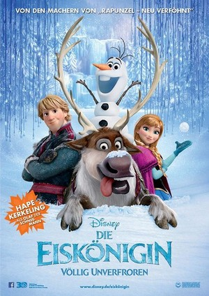 frozen German Poster