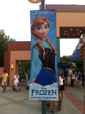 La Reine des Neiges Posters at Disney animation Studios