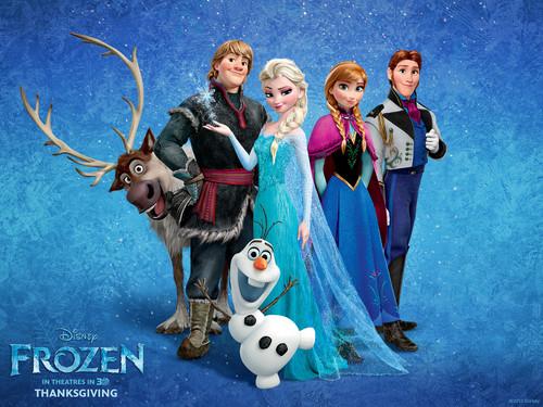 Frozen - Uma Aventura Congelante - Uma Aventura Congelante wallpaper titled Frozen - Uma Aventura Congelante wallpapers