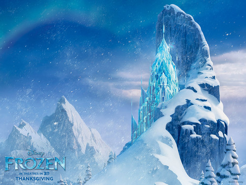 Frozen wallpaper probably with an igloo titled Frozen Wallpapers