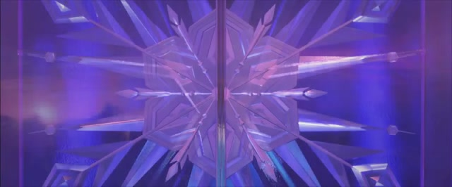 Elsa's Ice Palace Door