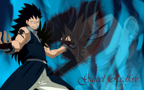 Fairy Tail wallpaper entitled Gajeel