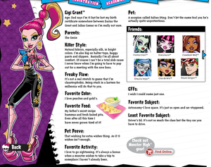 Monster High 13 Wishes images GiGi Grant wallpaper and background
