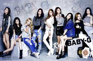 Girls Generation Real Baby-G