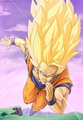 Goku - dragon-ball-z fan art