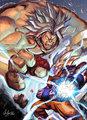 Goku - dragon-ball-z fan art