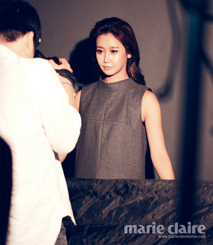 Gummi for Marie Claire Korea interview - 'The Colour of Crayon'