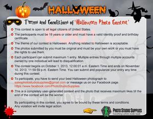 Halloween picha Contest 2013