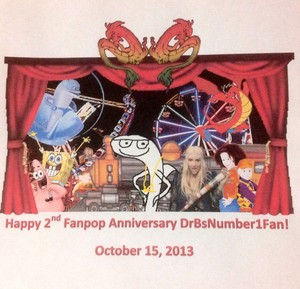 Happy 2nd Fanpop Anniversary DrBsNumber1Fan!