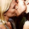 Hook & Emma Kiss<3