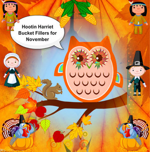 Hootin Harriet Bucket fillers