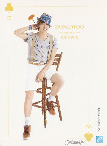 Dongwoo Infinite wallpaper possibly containing a fedora titled INFINITE Dongwoo– Official Collection Card Vol. 1 Scans