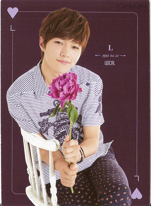 INFINITE L – Official Collection Card Vol. 1 Scans
