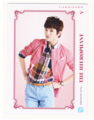 INFINITE Sungjong– Official Collection Card Vol. 1 Scans - sungjong photo