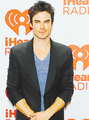 Ian, Candice, Claire and Kat attend iHeartRadio Music Festival (Sept 21, 2013)