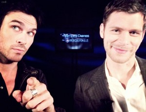 Interview with Ian Somerhalder & Joseph Morgan