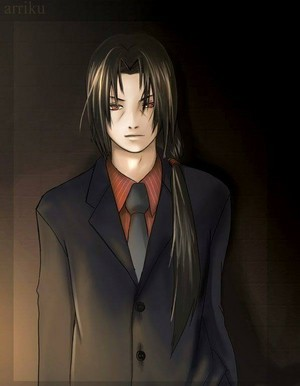 Itachi Uchiha In suit