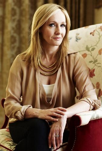Poets & Writers fond d'écran entitled J.K. Rowling