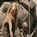 Jadis after turning the Panther to stone. - jadis-queen-of-narnia photo