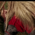 Jadis pins Peter to the ground with her sword. - jadis-queen-of-narnia photo