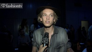 Jamie Campbell Bower - Milan Men's Fashion Week