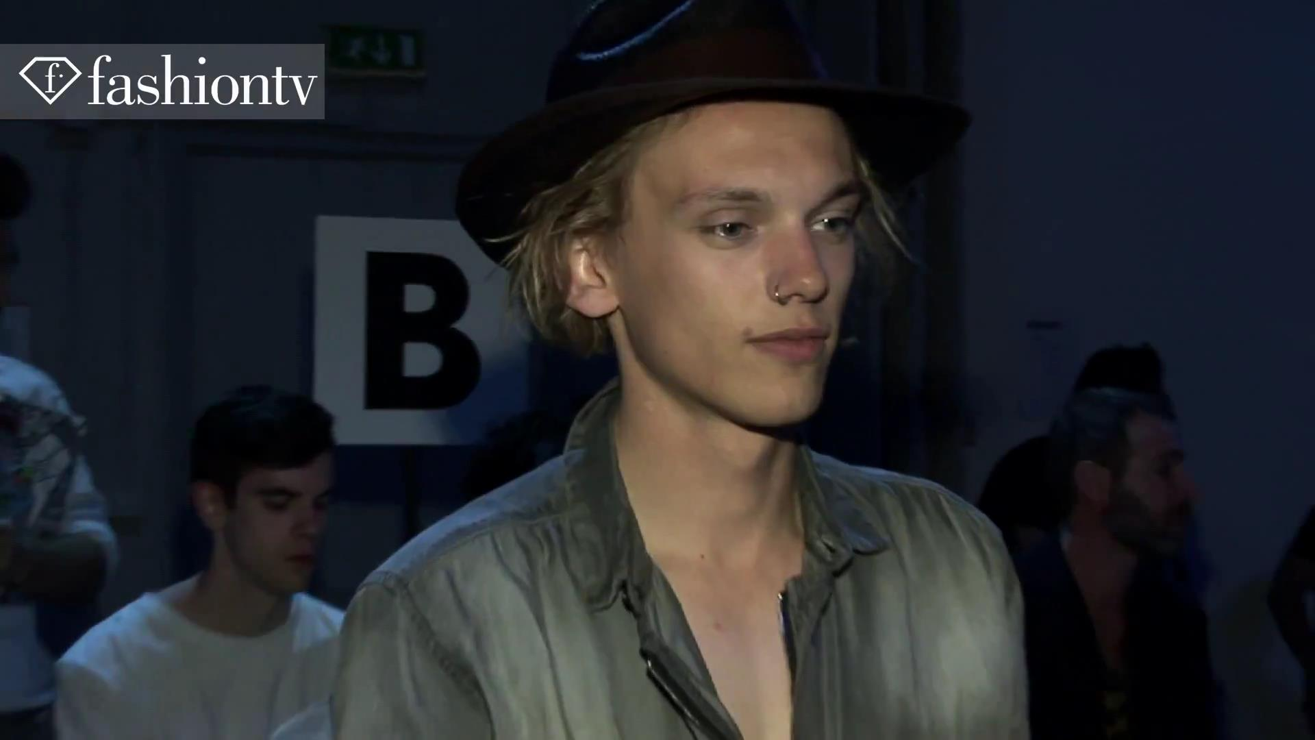Jamie Campbell Bower - Milan Men's Fashion Week