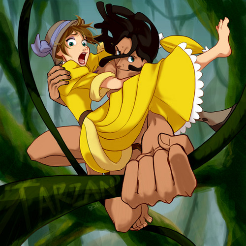 Jane Porter karatasi la kupamba ukuta probably with anime called Jane and Tarzan